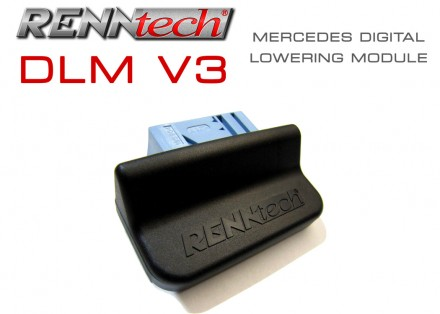 RENNtech V3 Digital Suspension Lowering Module for Mercedes
