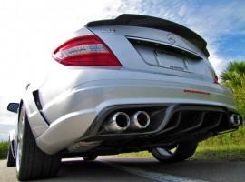 RENNtech Carbon Fiber | Rear Diffuser | w/ Integrated Exhaust Tips | 204 – C Class