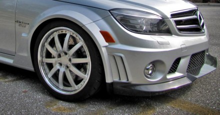 RENNtech Carbon Fiber Front Widebody Conversion Kit for 204 C 63 AMG