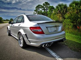 RENNtech Carbon Fiber Full C74 Widebody Conversion Aero Package for 204 C 63 AMG