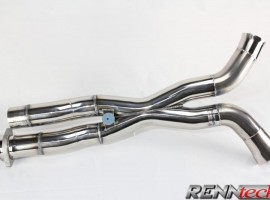 RENNtech Stainless Steel Sound and Performance Pipe for 211 – E 55K AMG and 63 AMG