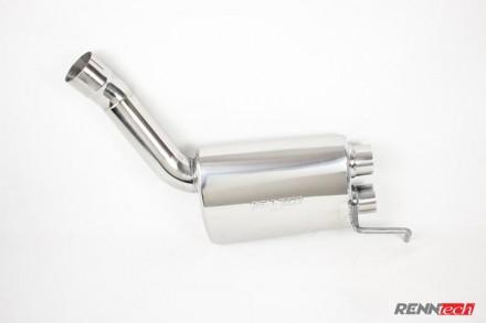 RENNtech Stainless Steel Sport Mufflers for 218 – CLS 63 AMG Biturbo