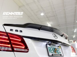 RENNtech Carbon Fiber Deck Lid Spoiler for 212 – E Class Sedan