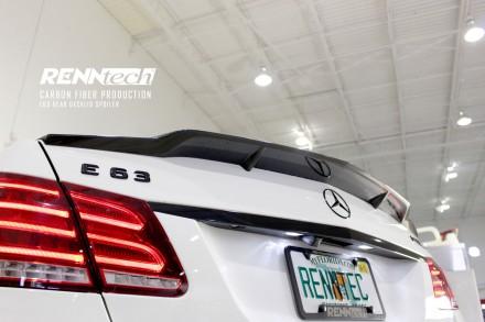 RENNtech Carbon Fiber Deck Lid Spoiler for 212 – E Class Sedan