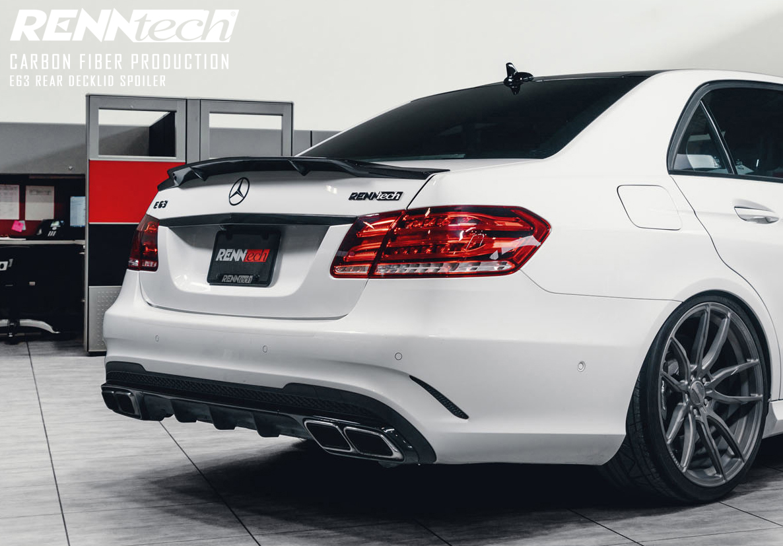 2016 Mercedes Benz Amg E 63 Sedan >> RENNtech Carbon Fiber Deck Lid Spoiler for 212 - E Class Sedan