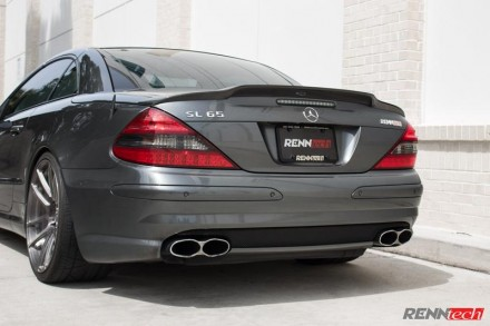RENNtech Carbon Fiber Rear Deck Lid Spoiler for 230 – SL-Class