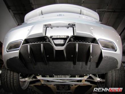 RENNtech | Carbon Fiber | Rear Diffuser | 197 – SLS AMG