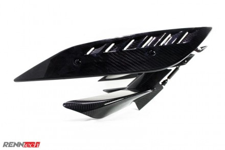 RENNtech | Carbon Fiber | Adjustable Wing w/ Lip Spoiler | C197 | SLS AMG/GT