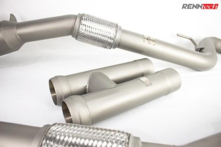 RENNtech Downpipes with 200 Cell Sport Catalytics for 222 – S / 217 – S 63 AMG BiTurbo M157-Series