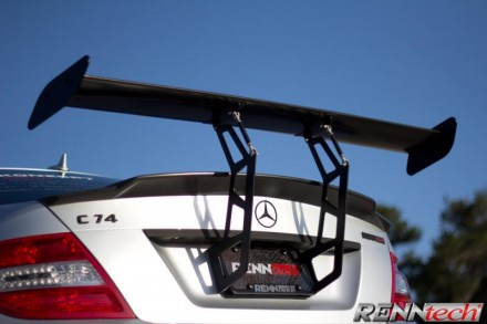 RENNtech | Carbon Fiber | Rear Mount Wing| DTM Style Adjustable Wing