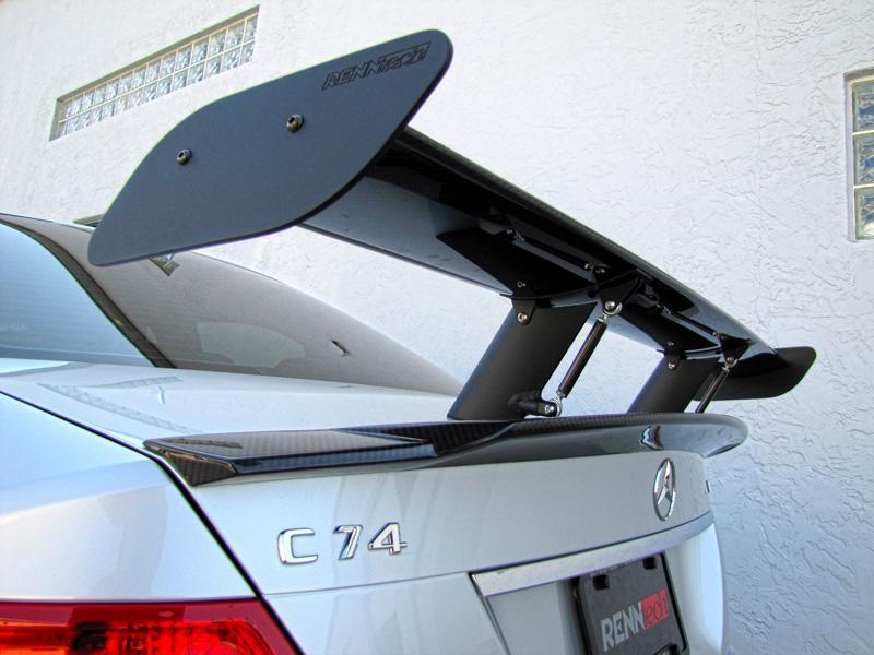 Carbon Fiber Adjustable Dtm Style Rear Wing
