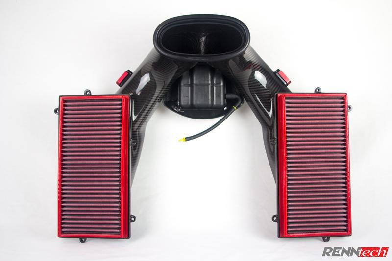 RENNtech Carbon Fiber Airbox for M156 – 63 AMG Engines
