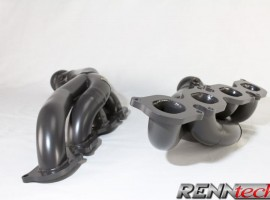 RENNtech Long Tube Headers with Downpipes and 200 Cell Sport Catalytic Converters for 211 – E 63 / 219 – CLS 63