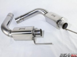 RENNtech Stainless Steel Sport Mufflers for 230 – SL 63 / 65 AMG