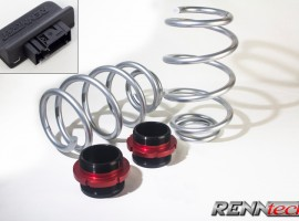 RENNtech Adjustable Suspension DLM Kit for 212 – E Class / 218 – CLS Class 2014+ 4-MATIC