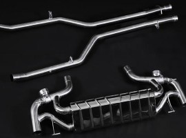 RENNtech | SLS Stainless Steel Valved Sport Exhaust System w/ Programmable Remote Control