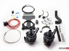 RENNtech Dual Intercooler Pump Upgrade Kit for 230 – SL 65 AMG Black Series