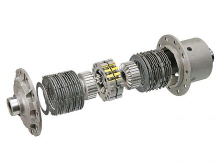 100% Locking Limited Slip Differential
