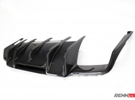RENNtech | Carbon Fiber | Rear Diffuser | 212 – E Class | Wagon | up to MY 2013 Pre-FaceLift