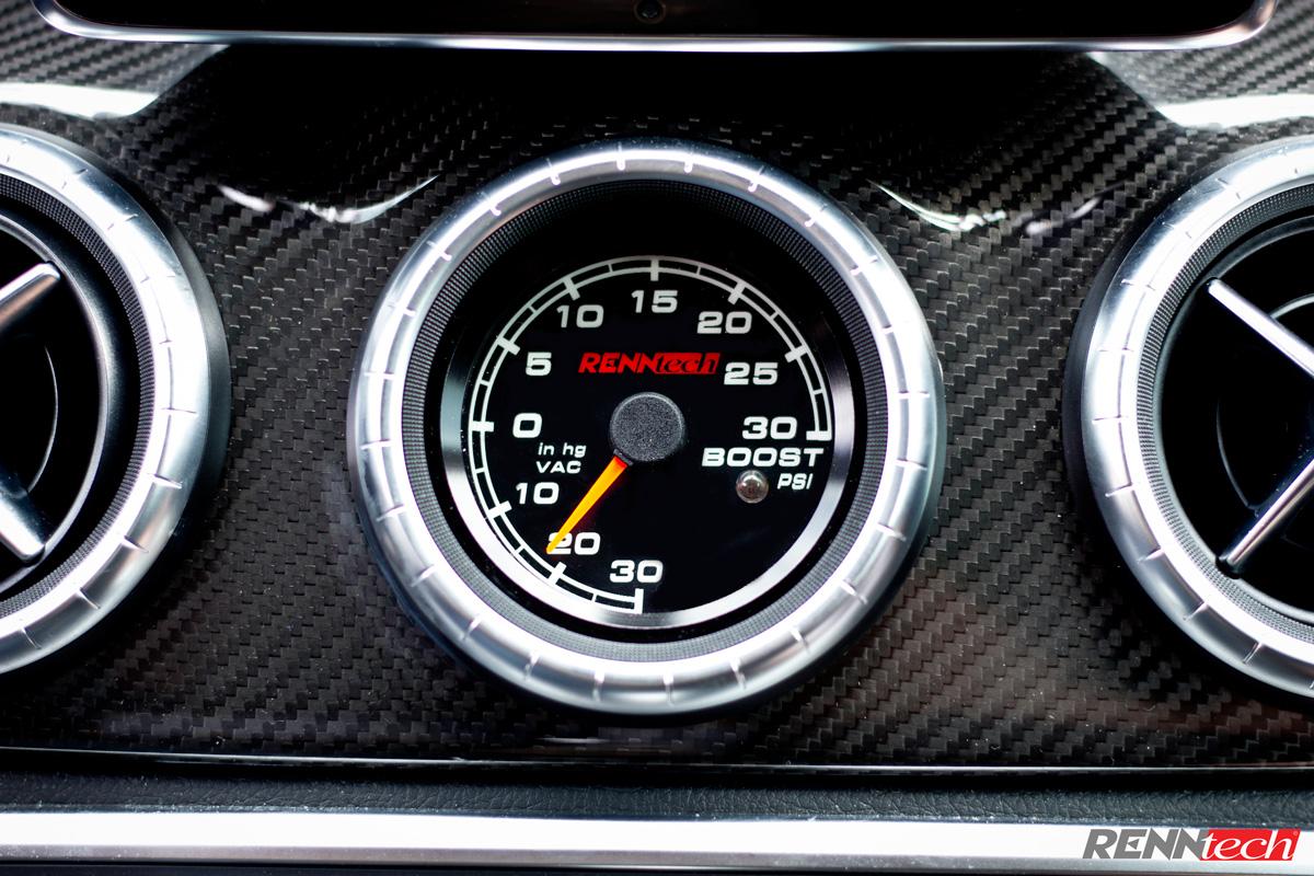 Mercedes Cla 45 Amg For Sale >> RENNtech | Boost Gauge | 117 - CLA | 176 - A | 156 - GLA