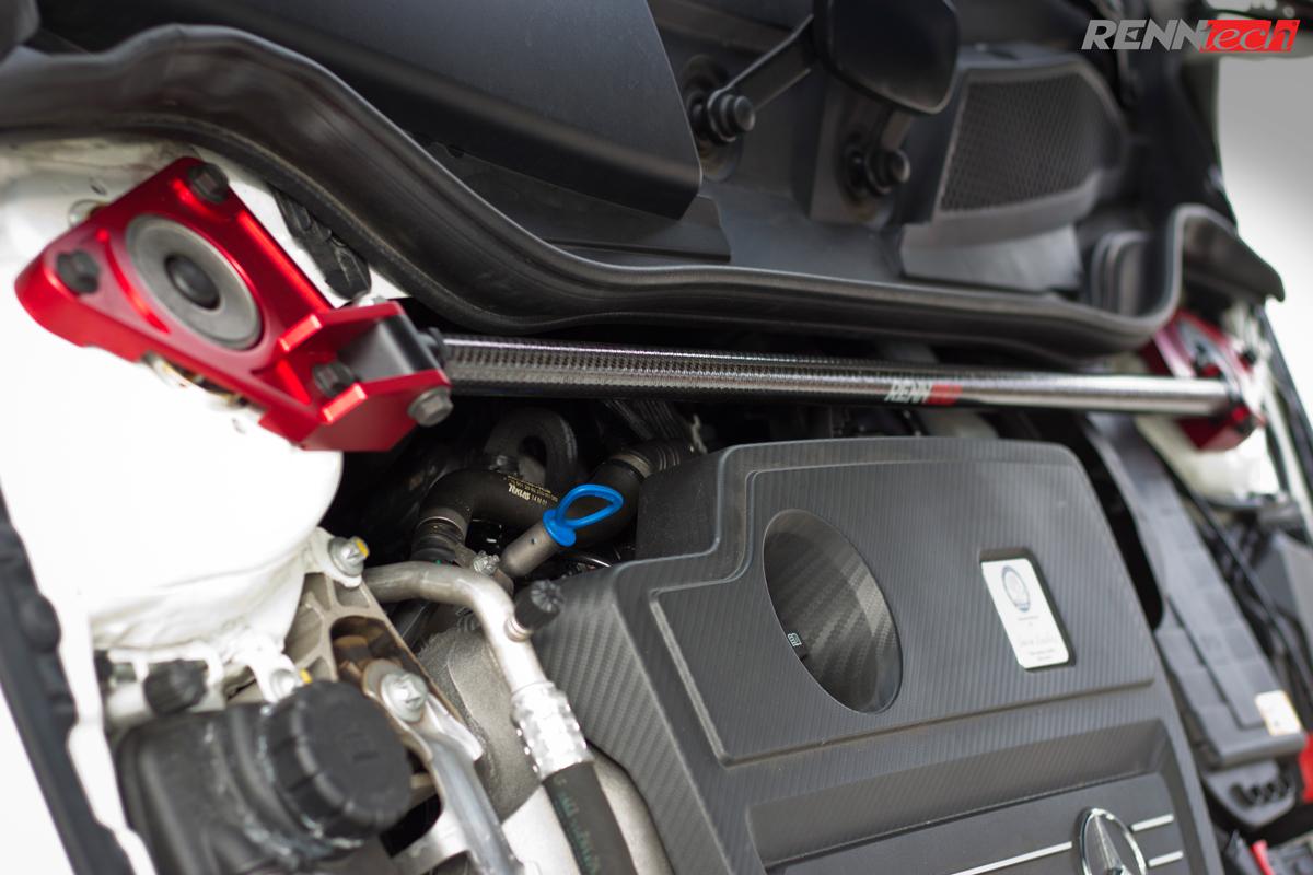Renntech Carbon Fiber Front Strut Brace 117 Cla